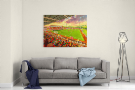 solitude on matchday canvas a2size